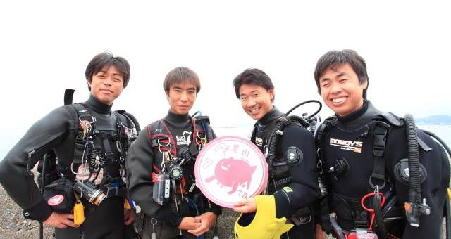 葉山でダイビング!!