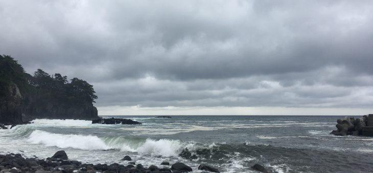 波が大きくなりました
